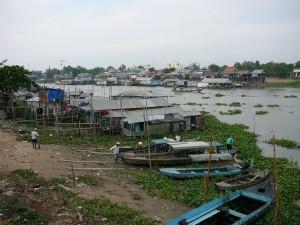 Chau Doc - Bassac River - Vietnam