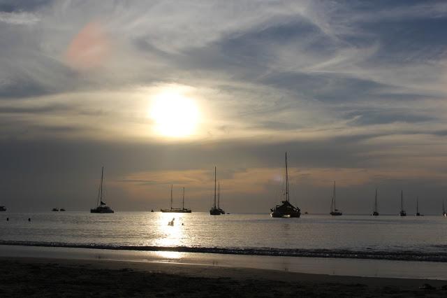 Sunset Nai Harn Beach Phuket