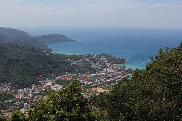 View from Big Bhudda Karon and KataBeach Phuket