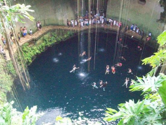 14 natural swimming pools you must see globetrotting couple Chichen itza mexico natural swimming pool