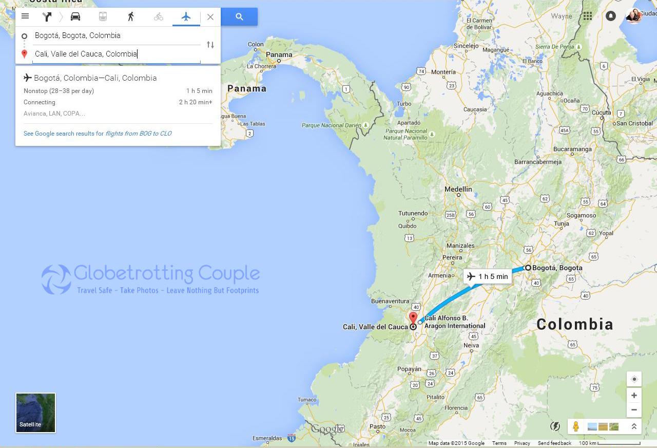 Bogota To Cali Colombia Globetrotting Couple